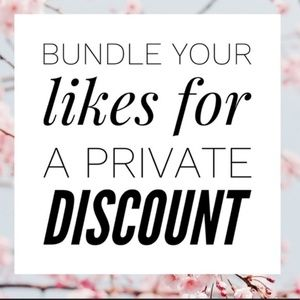 Bundle your Likes for a Private Discount